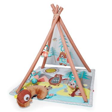 Skip Hop Camping Cubs Tipi Activity Gym Play Mat