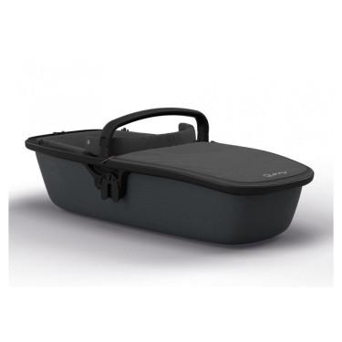 Quinny Zapp Lux Carrycot Black on Graphite
