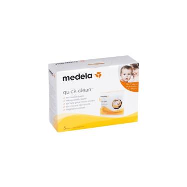 Medela QuickClean Mikrowelle Taschen (5Stk.)