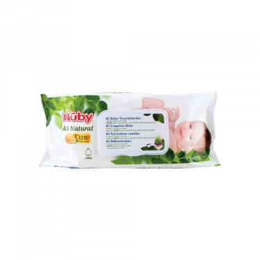 Nuby Citroganix Babytücher (80Stk.)