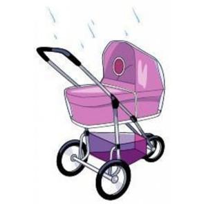 Babsana Universeller Regenschutz für Kinderwagen