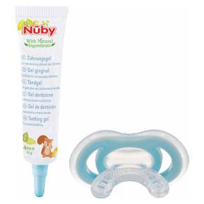 Nuby Citroganix Zahngel + Gum-eez™ - 4m+