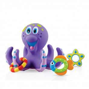Nuby Bath Toy Octopus - 18m+