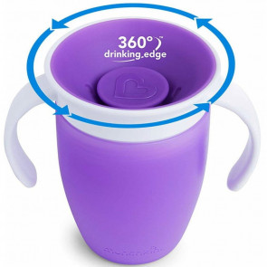 Munchkin Miracle Trainer Tasse (207ml) Purple