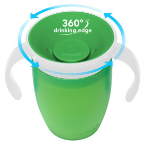 Munchkin Miracle Trainer Tasse (207ml) Green