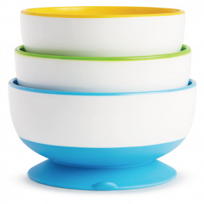 Munchkin Suction Bowls 3 Stück