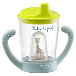 Sophie the Giraf Verschüttungsfreie Becher mit Maskottchen