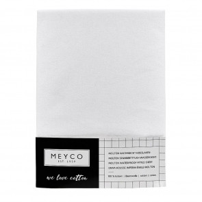 Meyco Molton Waterproof Fitted Sheet 60 x 120 cm