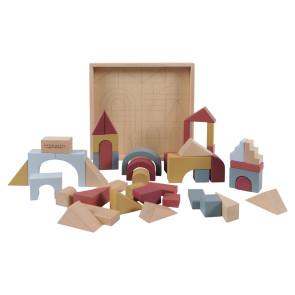 Little Dutch Wooden Block Box (47 pieces)