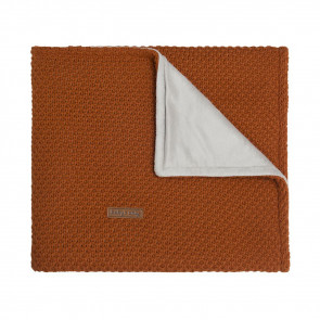 Baby's Only Crib Blanket Soft Flavor Rust