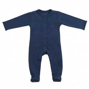 Baby's Only Play Suit with Feet Melange 50