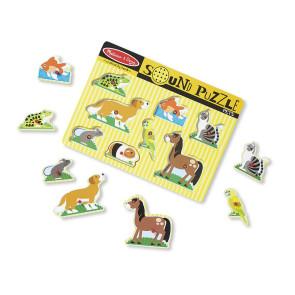 Melissa & Doug Sound Puzzle Pets