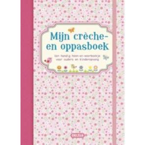 Deltas Mijn Creche- en Oppasboek Pink