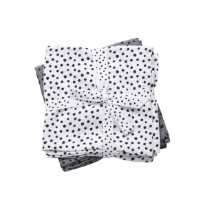 Done by Deer Spuchtuch 2-pack Happy Dots Grey