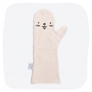 Shower Glove Pink Beaver