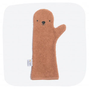 Baby Shower Glove Brown Bear