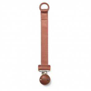 Elodie Details Pacifier Clip Hout Burned Clay