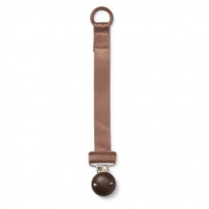 Elodie Details Pacifier Clip Hout Chocolate