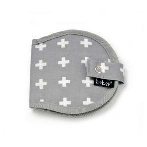KipKep Napper Bruststilleinlagen Etui Crossy Grey