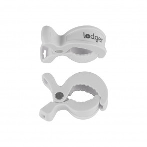 Lodger Swaddle Clips Weiß