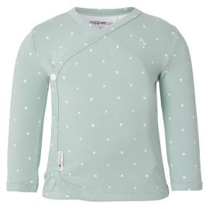 Noppies Baby Shirt Anne Grau Mint