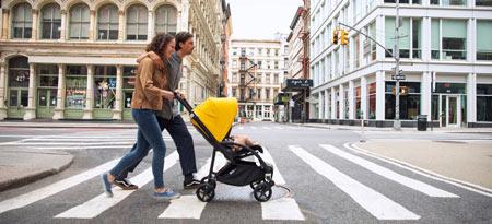 Bugaboo Bee ist der ideale Kinderwagen für aktive Eltern in der Stadt. Bugaboo Kinderwagen werden weltweit über Babycare.nl verschickt.