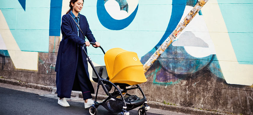 Bugaboo Bee 5 can ship to China efficiently